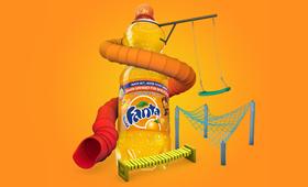 Fanta Spielplatzinitiative Visual